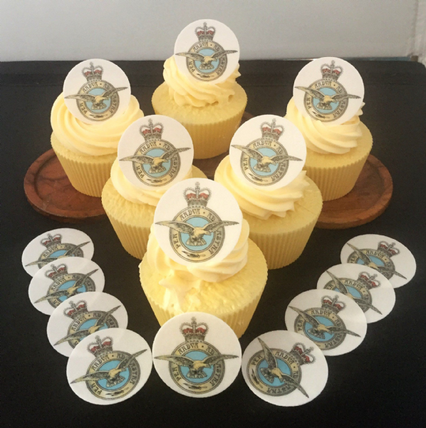 RAF cake topper - RAF Badge